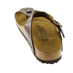 Birkenstock Gizeh Golden Brown Sandals Size 8 38UK